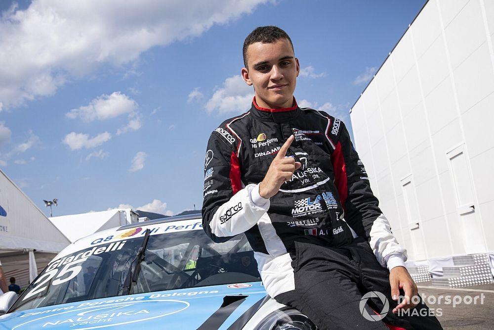 Buon esordio per Giardelli in Porsche Supercup in Ungheria