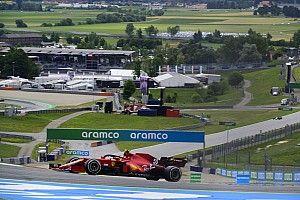 Sainz no entra en pánico luego del complicado viernes para Ferrari
