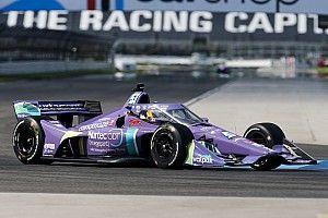 IndyCar GP Indy: Romain Grosjean takes first pole since 2011