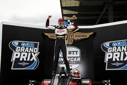 VeeKay gana el GP de Indianápolis 2021 y O'Ward fuera del top 10