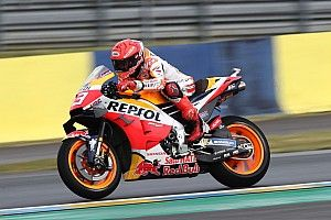 """Marquez: Second-row start for French MotoGP is """"best dream"""""""