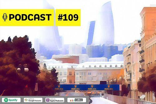 Podcast #109 – TELEMETRIA: O quebra-cabeças na desafiadora Baku com Rico Penteado