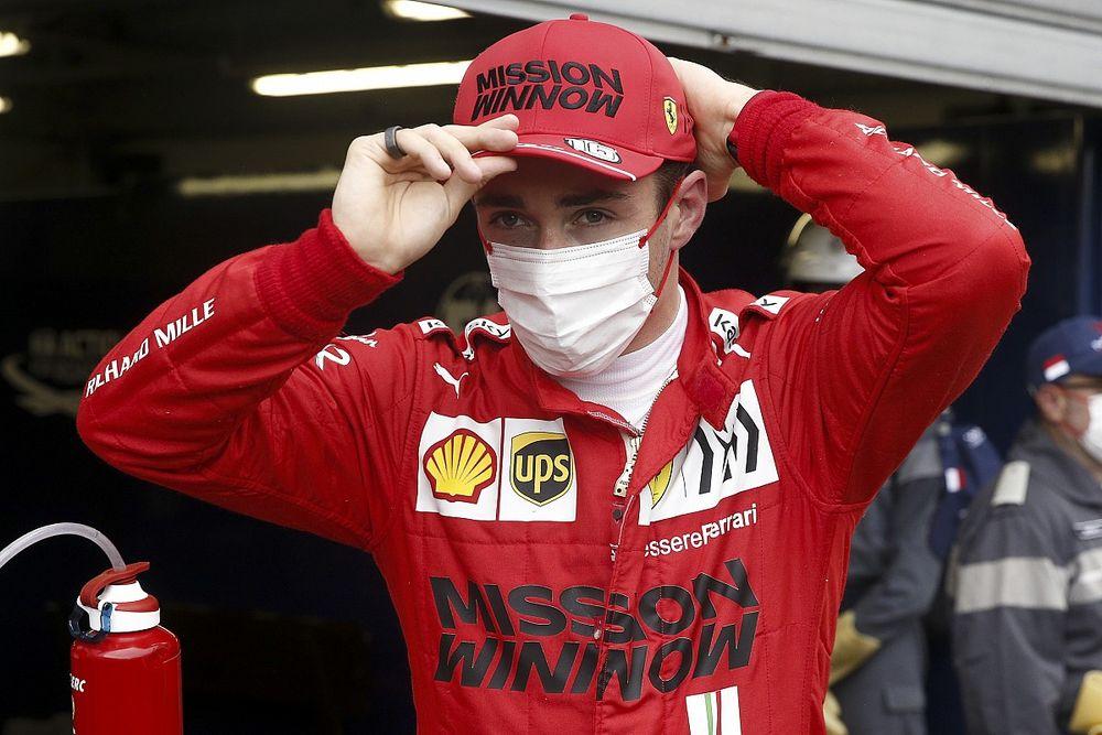 Girboks Bermasalah, Leclerc Gagal Start di GP Monako