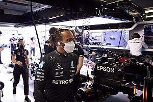 """F1 - Hamilton diz que guerra de palavras é """"infantil"""" e rebate Horner: """"É interessante o que ele inventa"""""""