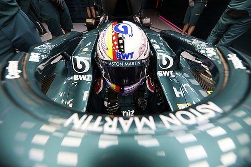 Vettel voelt zich na updates stuk meer op zijn gemak