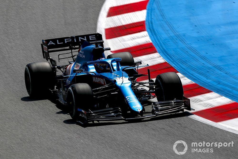 """Alonso, """"con confianza"""" para el sábado del GP de España de F1"""