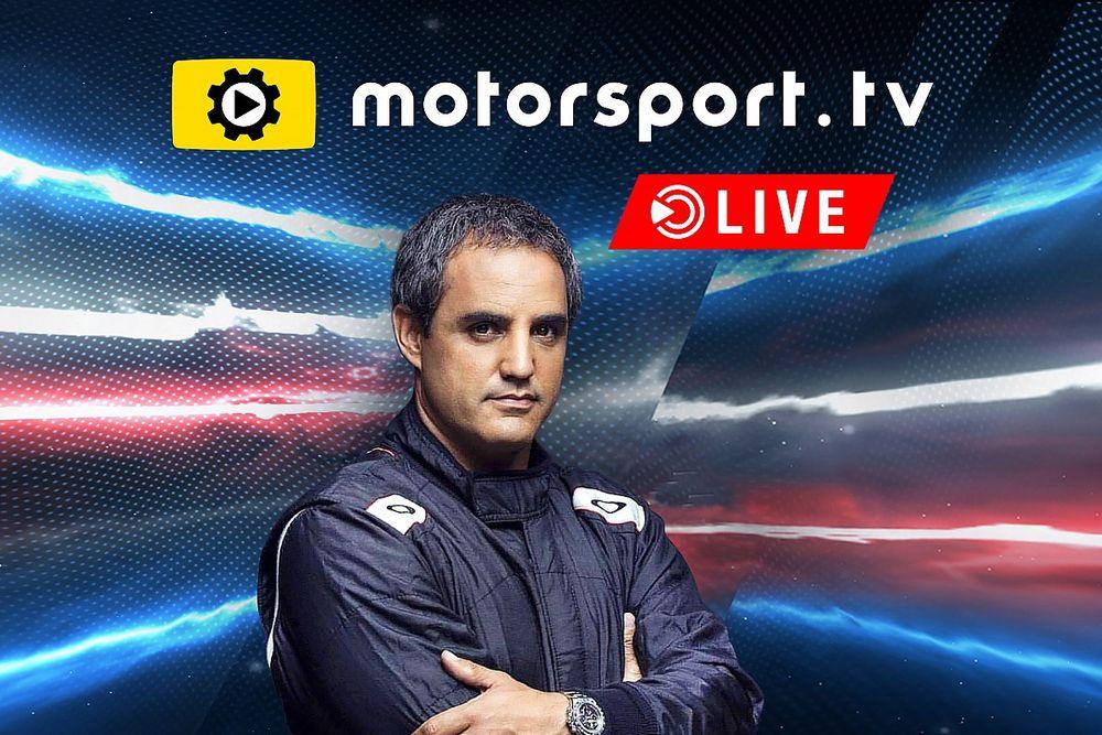 Montoya dołącza do Motorsport.tv