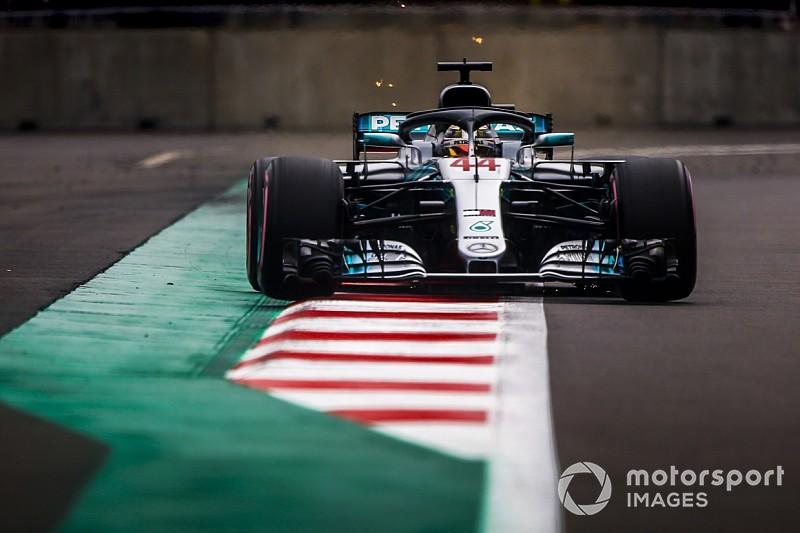 """Hamilton : """"Être derrière les Red Bull n'est pas une mauvaise chose"""""""