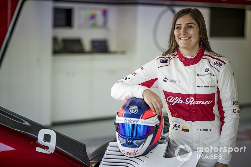 Calderón va faire un nouveau test en F1
