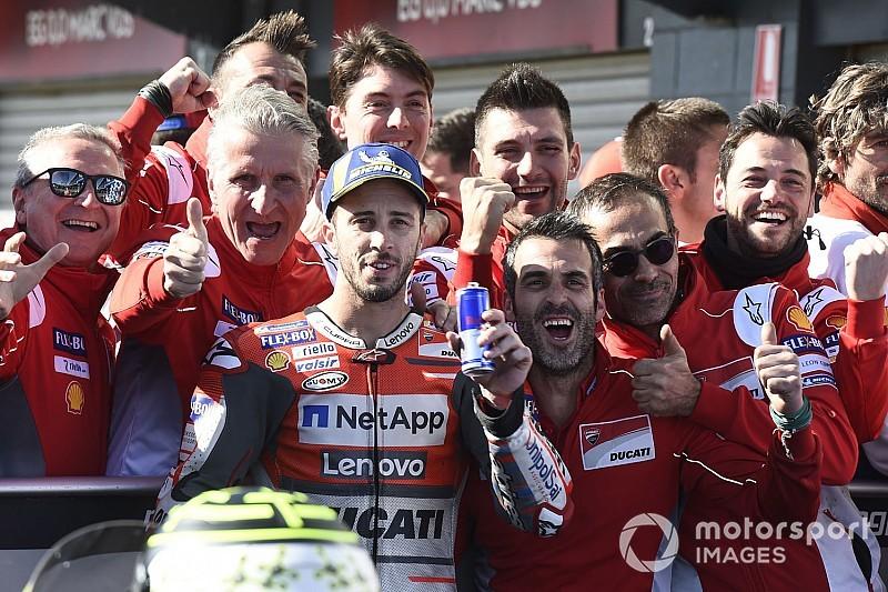 Dovizioso, une troisième place et surtout des progrès pour Ducati