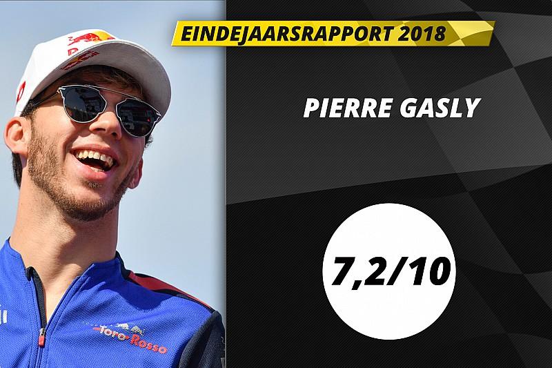 Eindrapport Pierre Gasly: Adequaat seizoen levert Red Bull-promotie op
