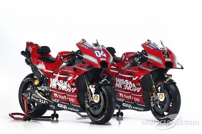 Ducati unveils new livery for 2019 MotoGP season