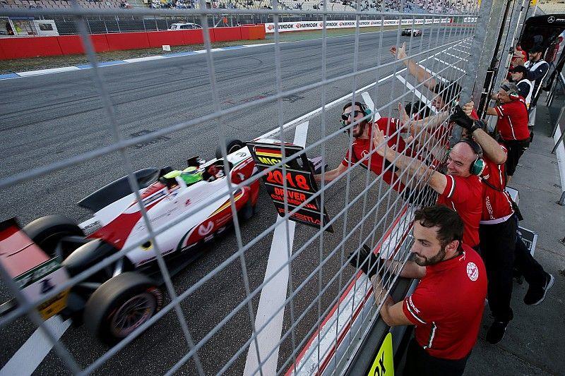 EK F3 Hockenheim: Schumacher kroont zich tot kampioen