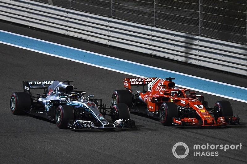 Diaporama - Le film du combat entre Hamilton et Vettel