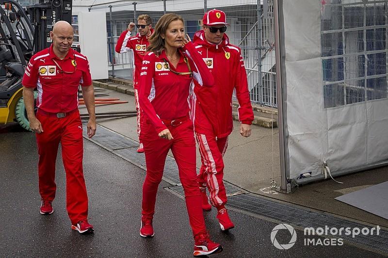Räikkönen tart az esőtől a Ferrari miatt