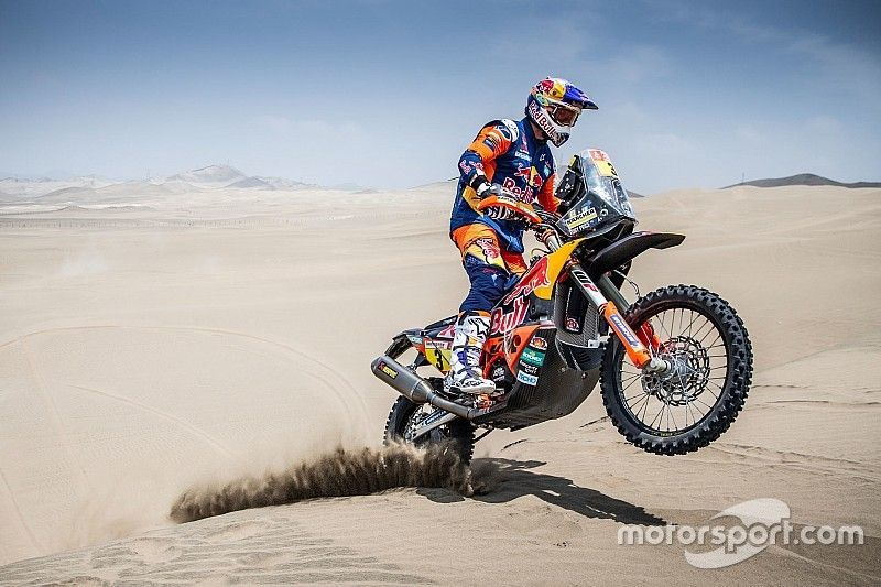 Dakar, Moto: Toby Price si prende l'ultima tappa e regala alla KTM il 18esimo trionfo di fila