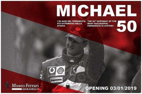 """El Museo Ferrari abrirá la exposición """"Michael 50"""" dedicada a Michael Schumacher"""