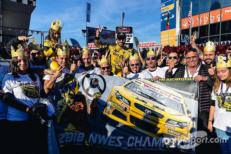 Alon Day savors second NASCAR Euro championship
