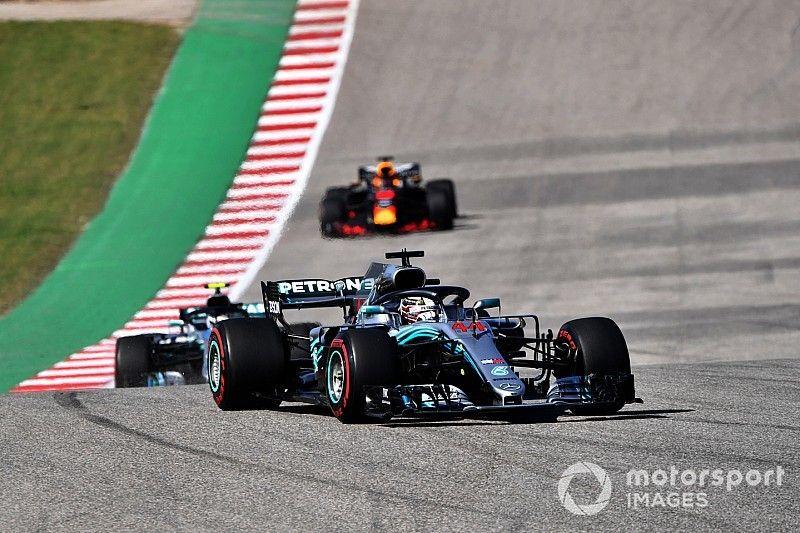 Mercedes had multiple problems in Austin - Hamilton