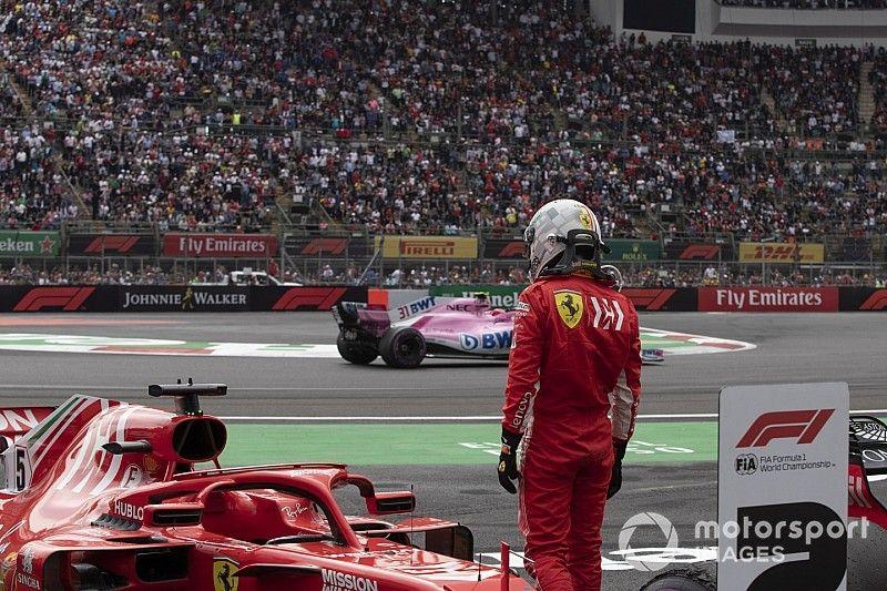 Vettel reconoce que ha sido su temporada más difícil