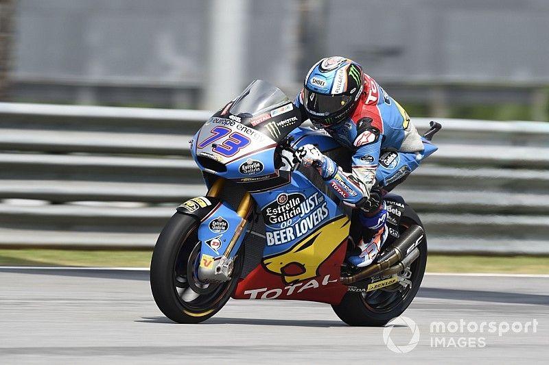 Alex Márquez vuelve a la pole en Sepang; Bagnaia, sexto por delante de Oliveira