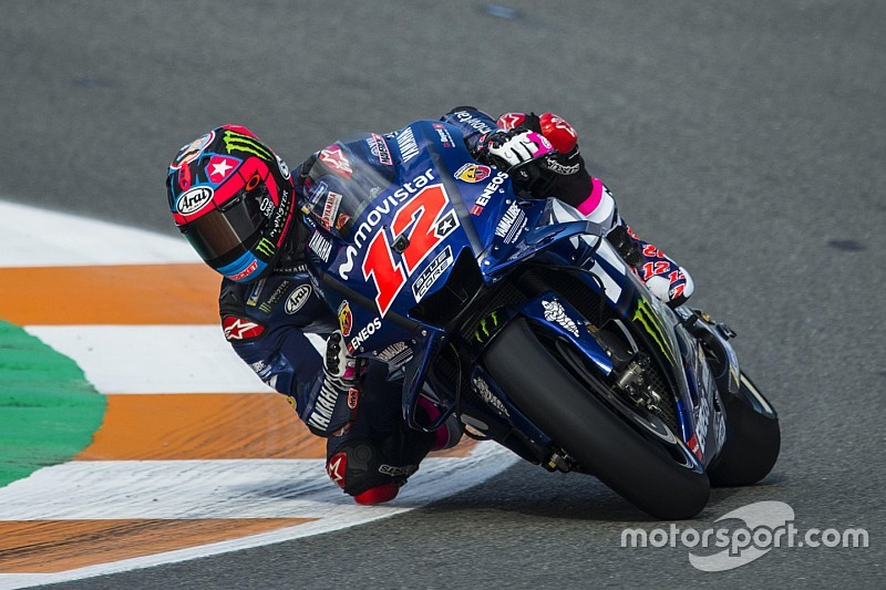 Viñales topt eerste dag post-season test in Valencia