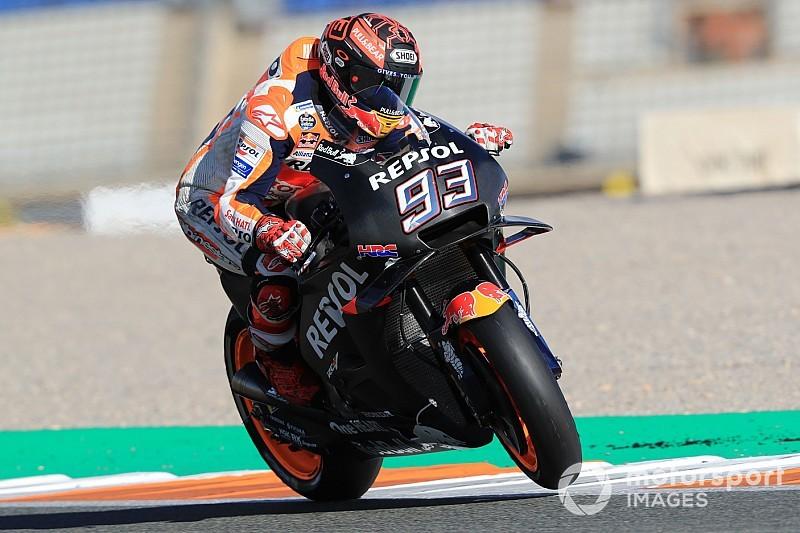"""Marquez scherza: """"La squadra mi ha detto che se fossi caduto non mi avrebbe portato a Jerez"""""""