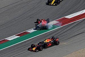 """Vettel: """"Pas sûr que Ricciardo m'ait vu"""""""