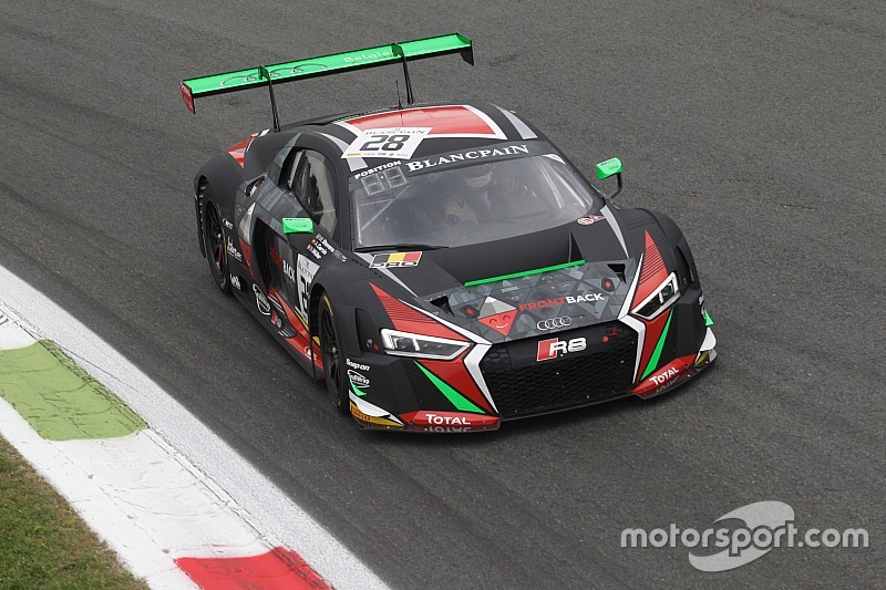 Two cars in the top 10 at Monza in the Endurance Cup for the Team WRT