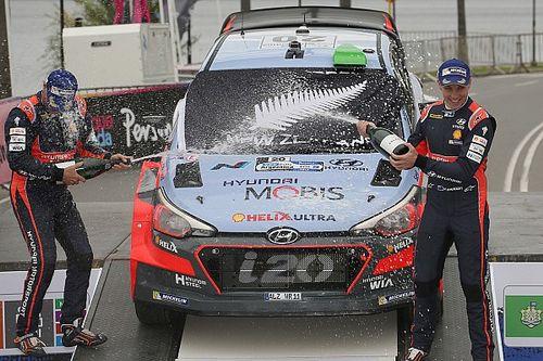 "Hyundai hails Paddon's ""performance of his career"""