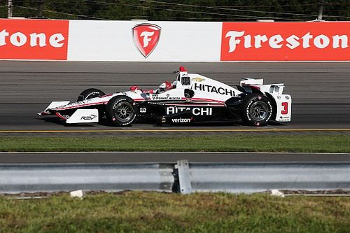 Castroneves quickest in final practice at Pocono