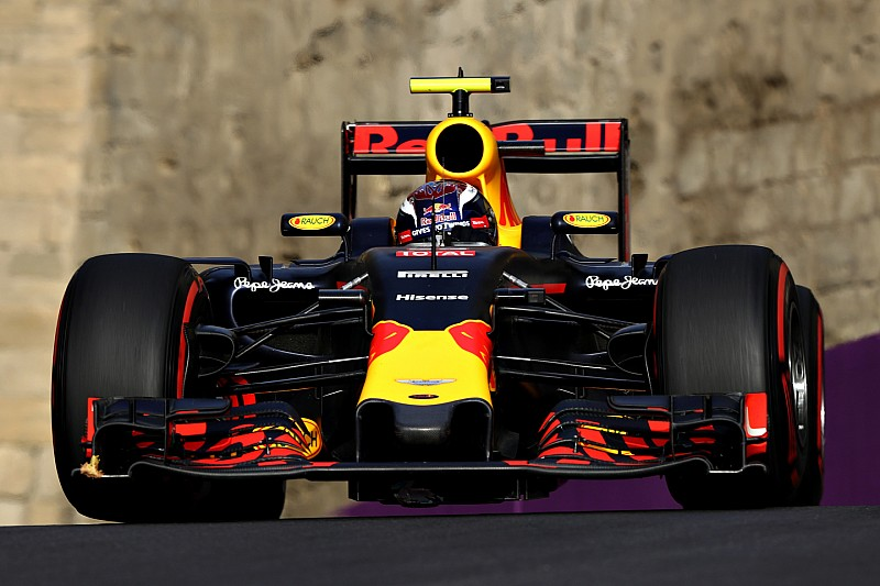 Low downforce caused Red Bull's tyre struggles in Baku