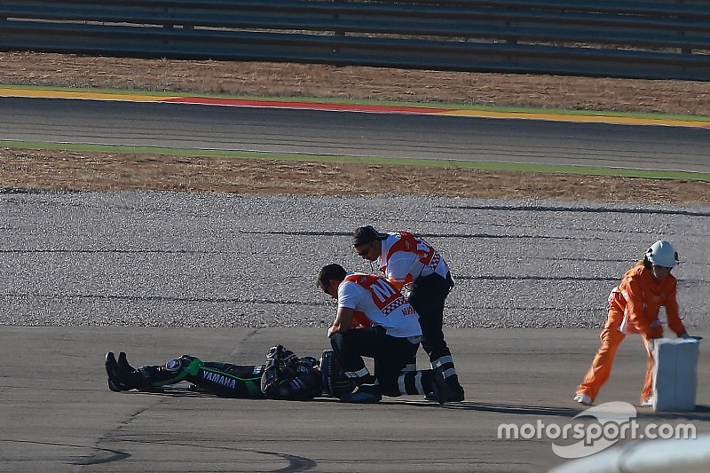 Lowes to miss Aragon race after FP3 crash