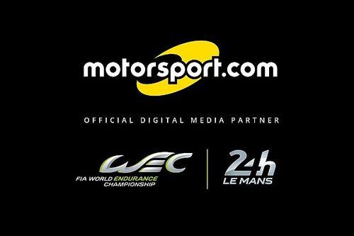 "FIA WEC & ACO name Motorsport.com ""Official Digital Media Partner"""