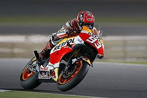 Marquez clinches front row in Qatar