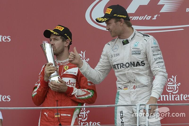"""Rosberg: """"Vettel está en un momento muy oscuro, pero puede volver"""""""