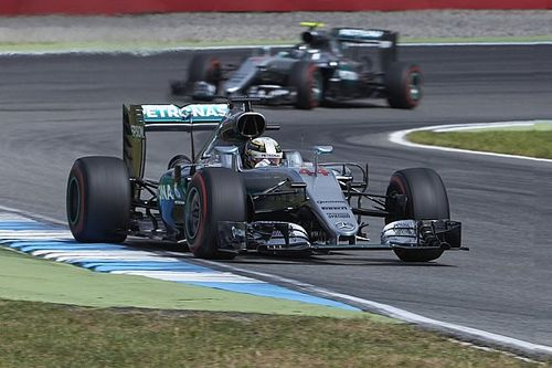 "Hamilton ""nowhere near"" engine limit in German GP"