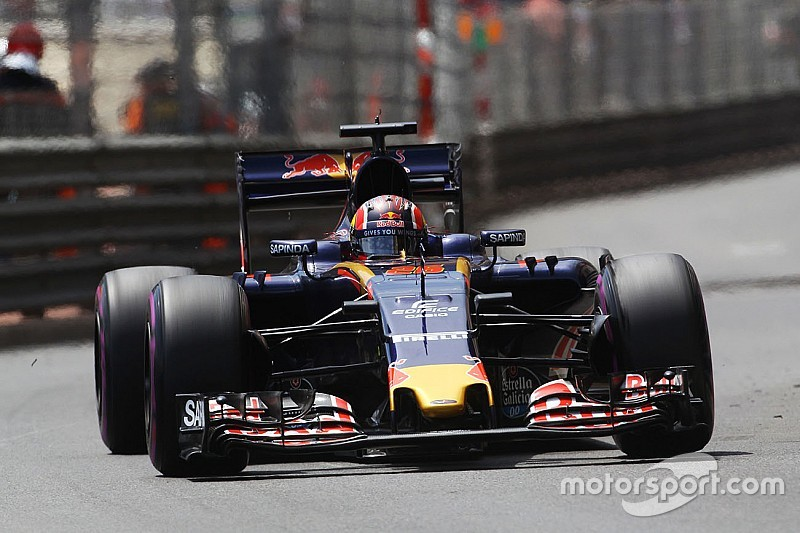 Toro Rosso has a decent day on Thursday free practice at Monaco