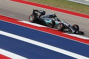 US GP: Rosberg quickest in FP2, Ricciardo close behind