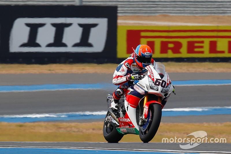 EL2 - Van der Mark en tête sur Honda mais Kawasaki donne le rythme