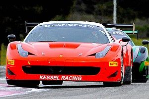 Perel flies for Ferrari in France