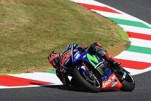 Viñales op pole-position bij Grand Prix van Italië, Rossi tweede