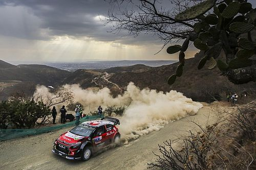 Mexico WRC: Meeke claims lead as drivers struggle with overheating