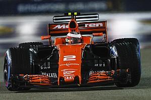 Formule 1 Actualités McLaren: Vandoorne commence à faire ce que l'on attend de lui