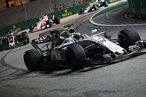 Massa'nın köşesi: Vettel, Singapur startında biraz fazla zorladı
