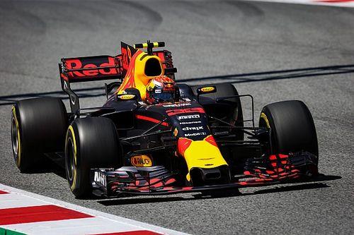 Max Verstappen valt uit in GP Spanje na aanrijding met Raikkonen