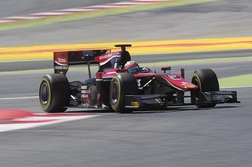 Latifi sbaglia, Matsushita ringrazia e coglie la vittoria in Gara 2 a Barcellona