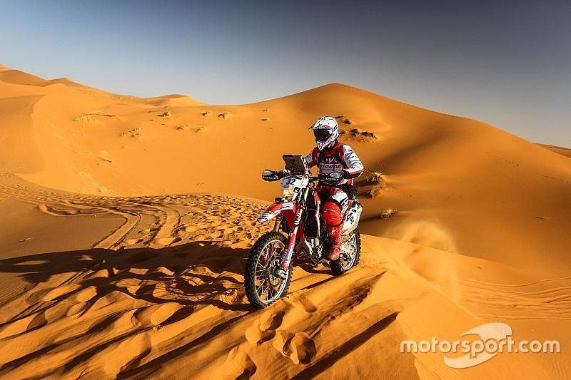 Oriol Mena gana la quinta etapa del Rally Merzouga en su debut en raids