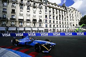 Formel E Rennbericht Formel E in Paris: 5. Saisonsieg für Sebastien Buemi mit viel Chaos