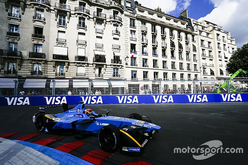 paris eprix buemi wins disaster for di grassi. Black Bedroom Furniture Sets. Home Design Ideas